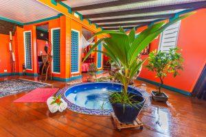 Papillon spa2 | Villas Ti Créole | Location Vacances Guadeloupe