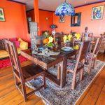 Orchidée salle à manger | Villas Ti Créole | Deshaies