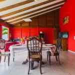 Palmier salle à manger | Villas Ti Créole | Location Vacances Deshaies
