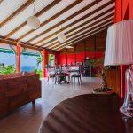 Palmier salle à manger | Villas Ti Créole | Location Vacances Guadeloupe