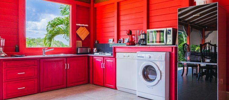 Palmier cuisine | Villas Ti Créole | Hébergement Vacances Guadeloupe