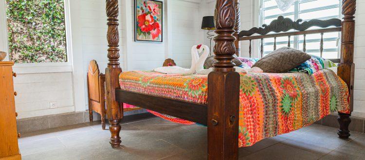 Palmier chambre 2 | Villas Ti Créole | Location Vacances Guadeloupe