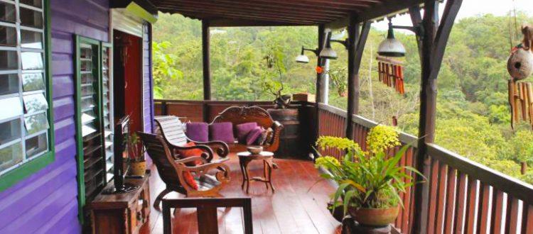 Gite Orchidée Deshaies Balcon