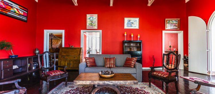 Villa Le Plessis salon