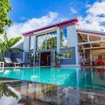 Villa le Plessis piscine