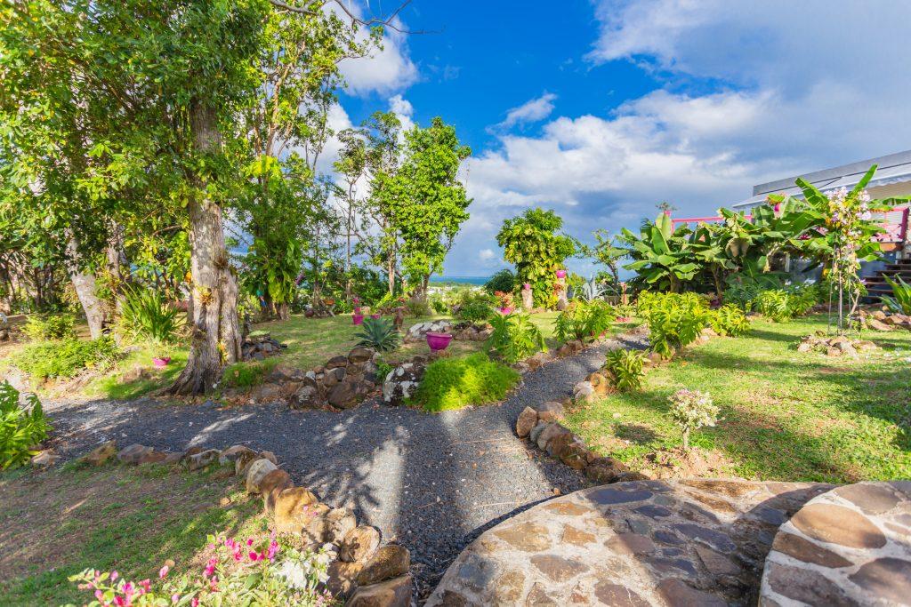 Villa Le Plessis jardin2