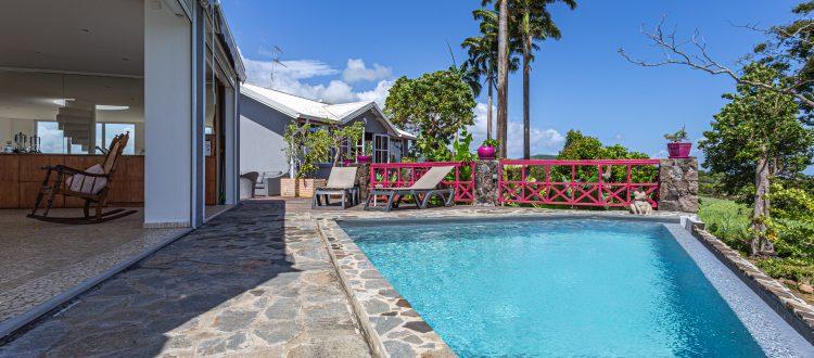 Villa A Ciel Ouvert Piscine3   Villas Ti Créole   Hébergement Vacances Guadeloupe