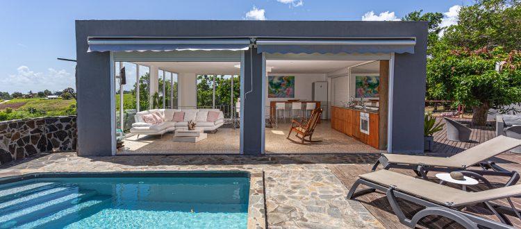 Villa A Ciel Ouvert Extérieur   Villas Ti Créole   Hébergement Vacances Guadeloupe