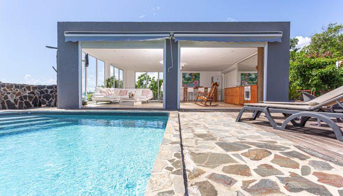Villa A Ciel Ouvert Extérieur2 | Villas Ti Créole | Hébergement Vacances Guadeloupe