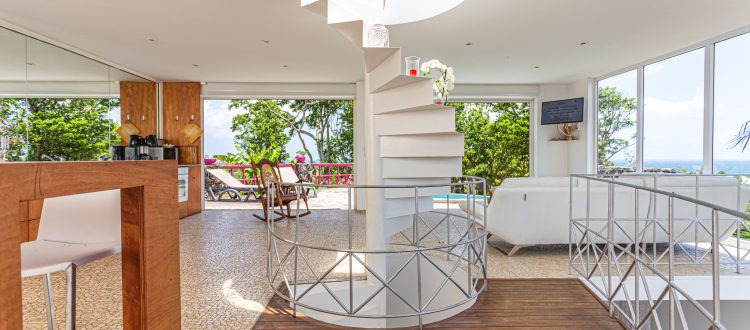 Villa A Ciel Ouvert Escalier   Villas Ti Créole   Location Vacances Guadeloupe