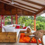 Palmier terrasse2 | Villas Ti Créole | Location Vacances Guadeloupe