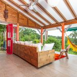Palmier terrasse3 | Villas Ti Créole | Location Vacances Guadeloupe
