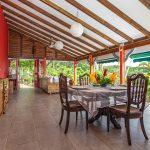 Palmier terrasse5 | Villas Ti Créole | Gites Vacances Guadeloupe
