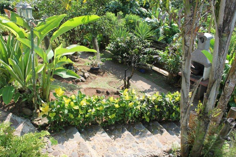 Gite papillon jardin Vacances en Guadeloupe
