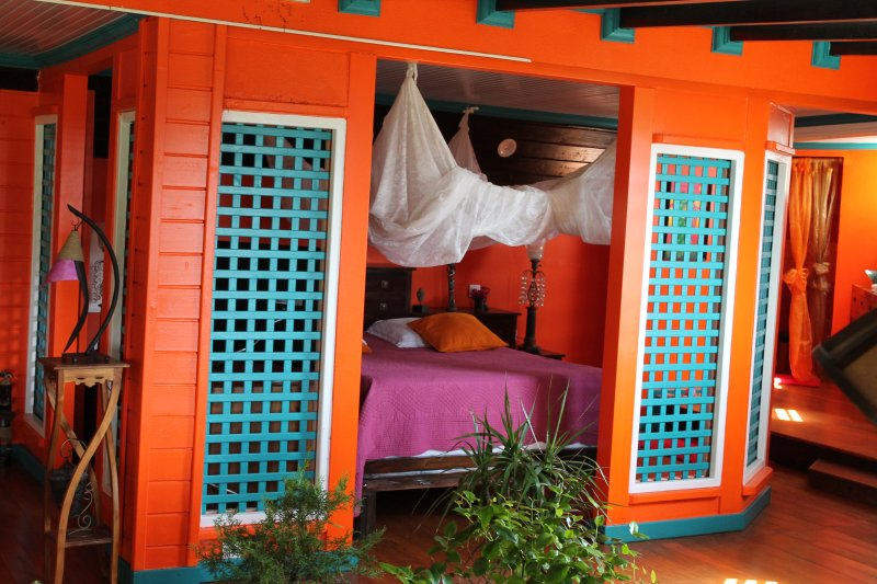 Gite papillon chambre Vacances en Guadeloupe