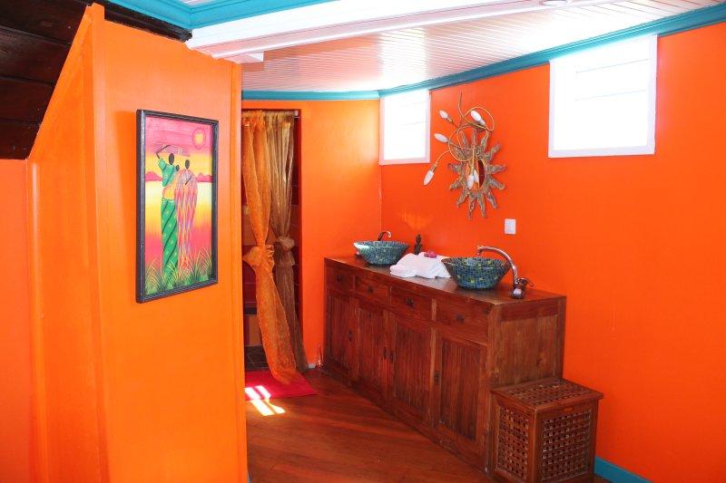Gite papillon couloir Vacances en Guadeloupe