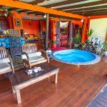 Colibri-salon   Villas Ti Creole   Deshaies-Guadeloupe