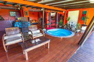 Colibri-salon | Villas Ti Creole | Deshaies-Guadeloupe