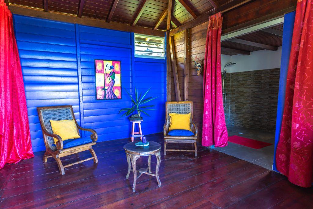 Gite Arbre à Pin coin détente Vacances en Guadeloupe